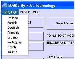 Programmeur principal d'ECU d'automobile de FGTech Galletto 2 avec la fonction de BDM, multilingue