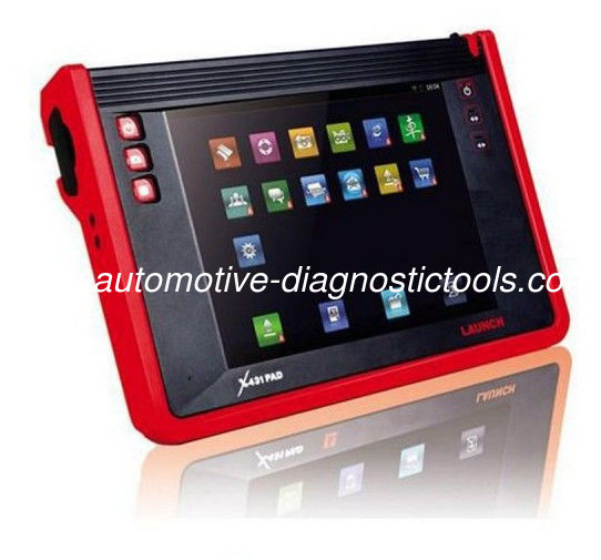 Launch X431 Scanner X431 Pad Automotive Diagnostic Tools With Touch Screen Support WIFI