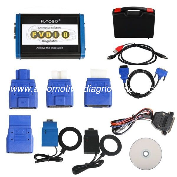 2017 FVDI2 Commander For BMW And MINI (V10.4) Software Support Diagnostic and Programming ECU