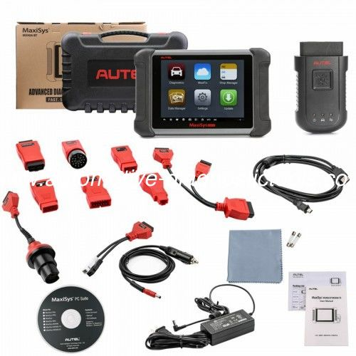 Wireless AUTEL MaxiSys MS906BT Autel Diagnostic Tool Support OE-level Diagnostics and ECU Coding