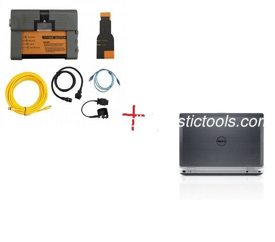 2019.12V BMW ICOM A2 BMW Diagnostic Tool  With Dell E6420 Laptop I5 CPU 4G RAM Ready To Work