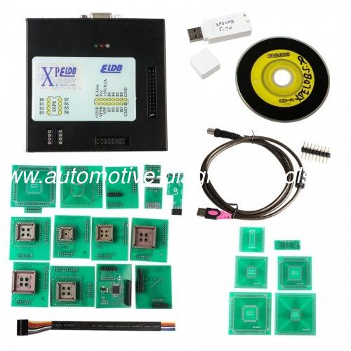 2018 Latest Version XPROG M V5.74 Auto ECU Programmer With USB Dongle Installed on Windows XP/ WIN7