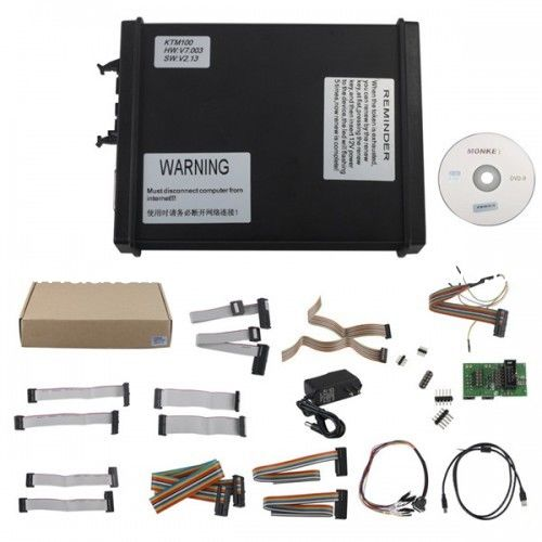 V2.13 FW V7.003 KTM100 KTAG Auto ECU Programmer  with Unlimited Token with Multi Language