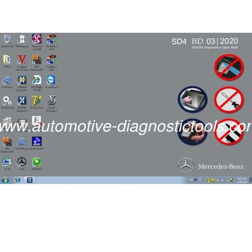 MB SD Connect Compact C4 Software 2020.3 Version Support Mercedes Works For Any Laptops Dell ,Lenovo ,HP