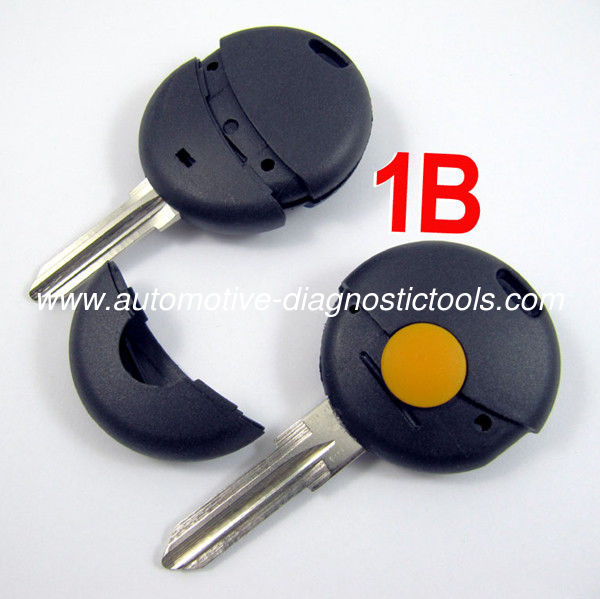 Mercedes Benz Smart Remote Key Shell, 1 Button Car Key Blanks For Benz