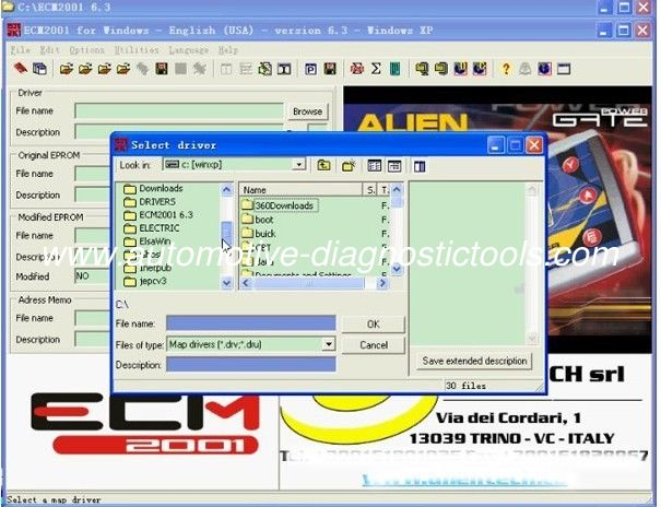 ECM Chip Tuning 2001 V6.3 Auto Diagnostic Software Compatible Systems XP/ VISTA/WIN7