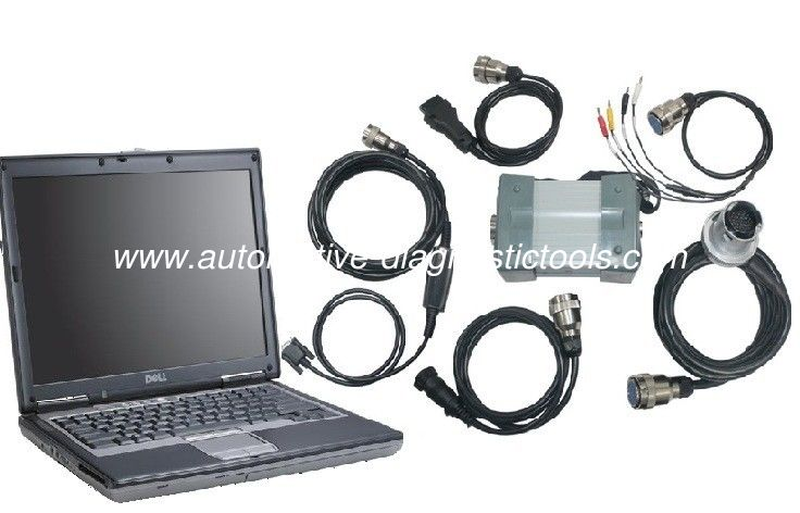Multi Language MB Star C3 Mercedes Diagnostic Tool With Dell D630 Support Offline Programming